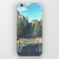hustle iPhone & iPod Skins featuring Hustle by Out of Line
