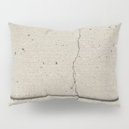 Real, Concrete, not Abstract Pillow Sham