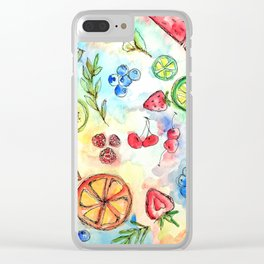 fruit salad Clear iPhone Case
