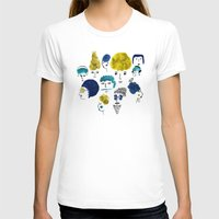 faces T-shirts featuring Faces by Sahily Tallet Yip