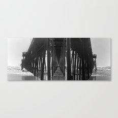 Triptic Pier Canvas Print