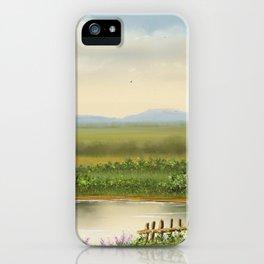 At Lake iPhone Case
