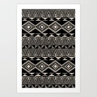 navajo Art Prints featuring Navajo by Stephanie Le Cocq