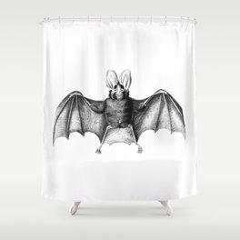 A Little Batty Shower Curtain