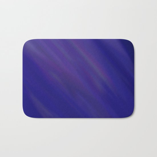 Finding Peace - Abstract, smooth, silky blue painting, peaceful, relaxing, modern art Bath Mat