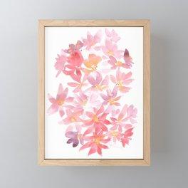 Loose Daises Framed Mini Art Print