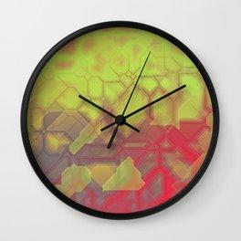future fantasy eruption Wall Clock