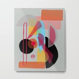Modern minimal forms 22 Metal Print