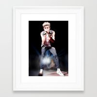 niall Framed Art Prints featuring niall by indieharold