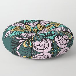 Ornamental Floor Pillow