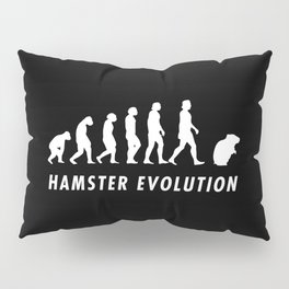 Funny Hamster Evolution Pun Quote Sayings Pillow Sham