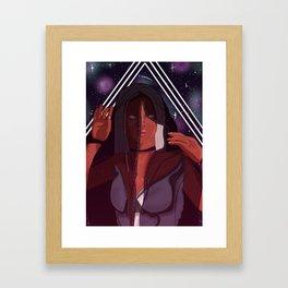 Veiled Future Framed Art Print