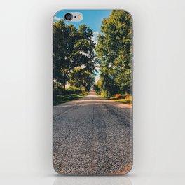 Road to wonderland iPhone Skin
