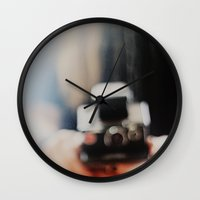 polaroid Wall Clocks featuring polaroid. by hilde.