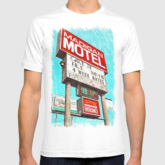 Retro signage T-shirt