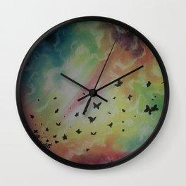 THE DANCE OF BUTTERFLIES Wall Clock