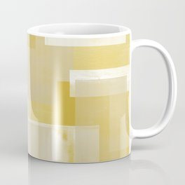 Modern Abstract No. 19 | Citron Coffee Mug