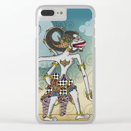 Modification of the puppet characters Hanuman white monkey in the story of the Ramayana Clear iPhone Case