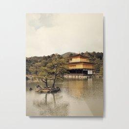 Kinkakuji Metal Print