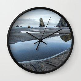 Haystack and the Needles Wall Clock
