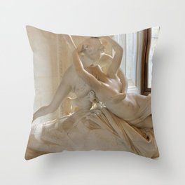 A Kiss is so Complicated Throw Pillow