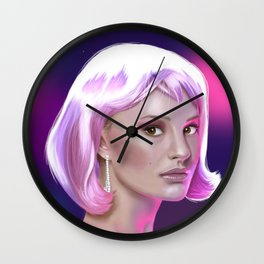Natalie Wall Clock