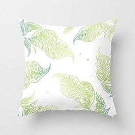 Gradi Leaves pt. 2 Throw Pillow
