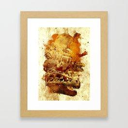 Bloodline Rex Framed Art Print