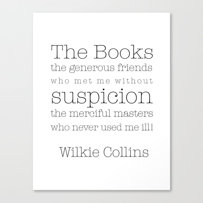 The Books! My generous friends! Canvas Print by paperviolets