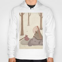 forrest Hoodies featuring Forrest creatures by Loezelot