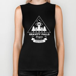 Visit Gravity Falls Biker Tank