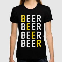 Cool Beer Design T-shirt