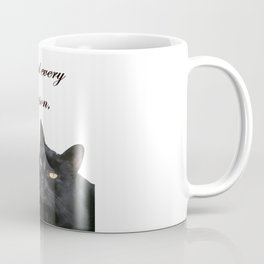 Behind Every Great Person There Is A Great Cat Coffee Mug