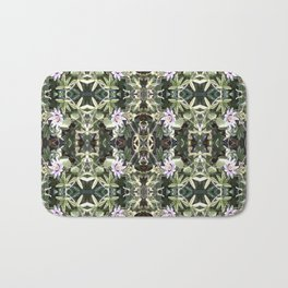 Clematis Photo 747 Multi Fractal Bath Mat