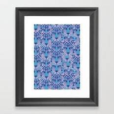 Psychedelic Camouflage Framed Art Print