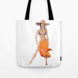 Minimalist Girl Tote Bag