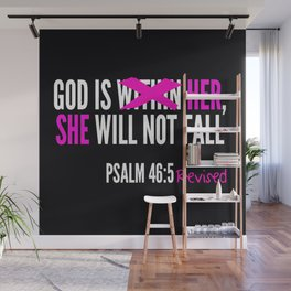 God is Within Her Revised  Wall Mural
