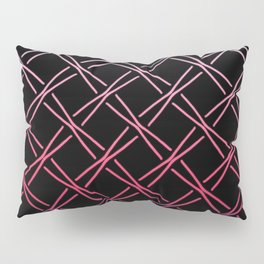 Fences Abstract Ombre Pillow Sham