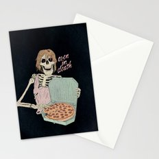 Even In Death Stationery Cards