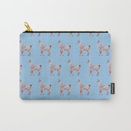 blue llamas Carry-All Pouch