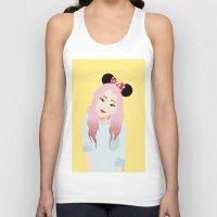 minnie Tank Tops featuring Minnie Ears by lulu ramos