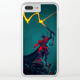 WARLORD Clear iPhone Case