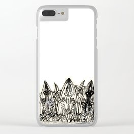 Crown I Clear iPhone Case