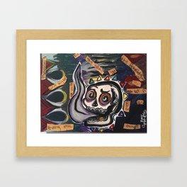 itfellapartintosmoke Framed Art Print