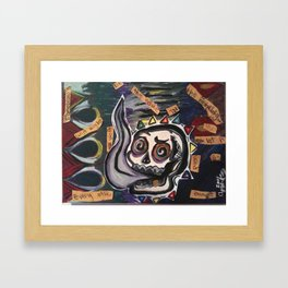itfellapartintosmoke Framed Art Print