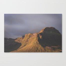 Vintage Mountain 06 Canvas Print