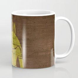 Gold Foil Egypcian God Coffee Mug