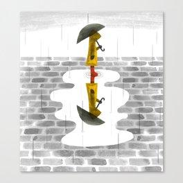 Gloomy Perspective Canvas Print