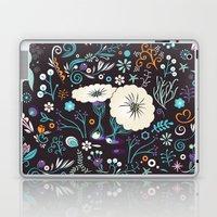 Subsea floral pattern Laptop & iPad Skin