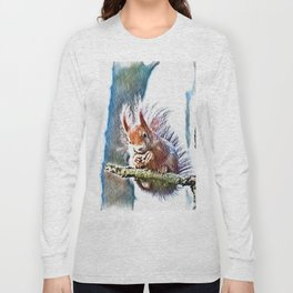 winter feeding Long Sleeve T-shirt